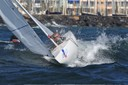 medal race with onshore wind, SOF 2009