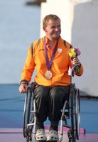 Brons op de Paralympics 2012