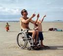 Kite rolling, Quiberon, juli 1999